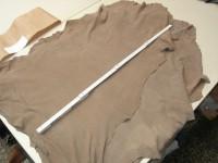 Lammvelour hellbraun 0,5mm (A2021KHB)