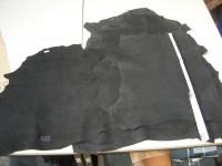 Ziegenleder schwarz 0,7mm (O1913KZS1)