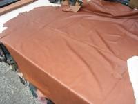 Wasserbüffel mittelbraun 1,2mm gewachst (E2119WBC)