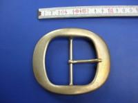 Doppelschnallen 6,0 cm altmessing (E19K140)
