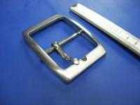 Doppelschnalle 4,5 cm satiniert (E19K173)
