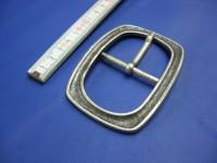 Doppelschnalle 4,5 cm altsilber (E19K172)