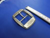 Doppelschnalle 4,0 cm altsilber (E19K211)
