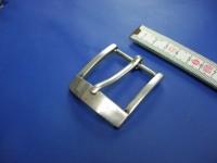 Halbschnallen 4,0 cm altsilber poliert (E19K239)