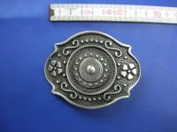 Koppelschnallen 4,0 cm altsilber (E19K272)