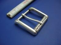 4 cm Messingrollschnalle altsilber (RS19264/40ASI)