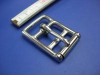 Doppelschnalle 3,0 cm Edelstahl (1235SS11/8)