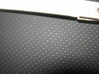 Rinderhälften schwarz, perforiert 1,4 mm (F1511KL)