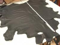 Wasserbüffelkälber schwarz ungeschliffen 1,3 mm mittelfest (T1517WABÜ)