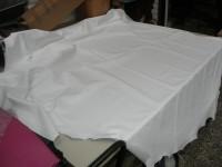 Rossnappa weiß 0,7 mm (E183450W) stark gedeckte und reissfeste Ware aus Italien.