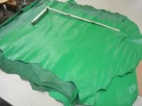 Ziegenleder knallgrün (O1813KZ5) 1,0 mm