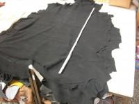 Elchvelour schwarz 1,3 mm weich (E1615EV)