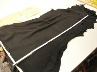 Hirschvelour schwarz 1,2 mm weich (S1610HS)