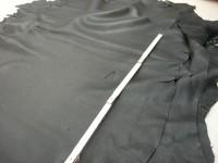 Hirschnappa schwarz 1,2 mm leicht gedeckt (ER1415SS)