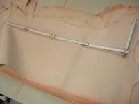 Vegetabile halbe Ziegennubuks (E1615VZ) 0,7-0,8 mm