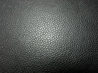 Rindleder schwarz Rochenimitat 1,3-1,4 mm (F1716RO).