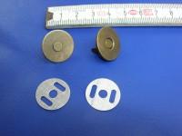 Magnetverschluss altmessing groß (MVGAME) 1,7 cm