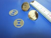 Magnetverschluss vernickelt groß (MVGNI) 1,7 cm