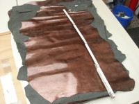 Ziegenlackleder bronze 0,9-1,0 mm (O1713KZL)