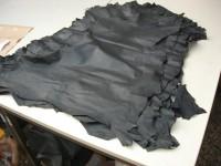 Ziegennarbenspalte schwarz 0,5 mm (E1810ZNS)