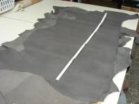 Wasserbüffel dunkelgrau 1,3 -1,4 mm (01619DG)