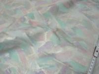 Schweinsleder rosa-mint metallic 0,6-0,7mm (EI1217SB)