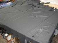Möbelleder dunkelblau-grau (C1215GR6) 1,0 mm semianilin, weich.