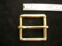 Rollschnalle massiv messing 4,5 cm (49B1 3/4me)