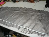 Kalbleder altsilber 1,2mm (O1717SI1) Folienleder.