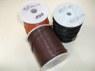 Ziegenlederband 1,5mm