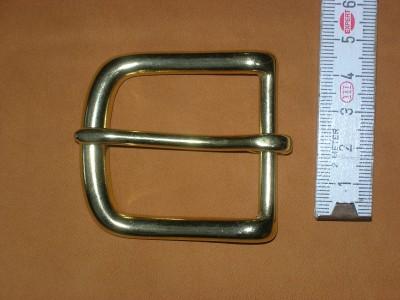 4 cm Messinghalbschnalle 12 BN 1 1/2