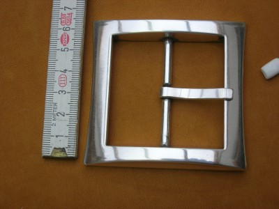 Doppelschnalle (SP2) 5cm versilbert
