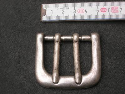 Doppeldornhalbschnalle 4,0 cm (SS1310KASDD)
