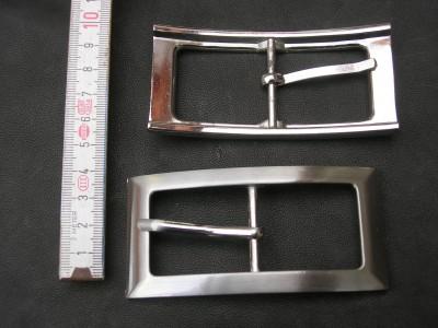 Doppelschnalle 3,0 cm (BZ11) hochwertige Ausführung.
