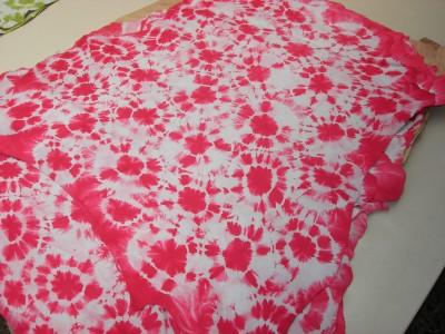 Ziegenvelour batik rot (ZVBAR)