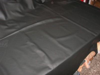 Möbelleder schwarz genarbt (E192150SG)