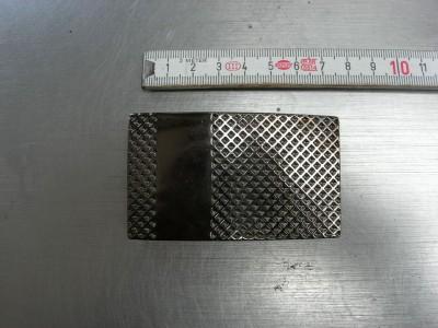 Koppelschnallen 4,0 cm bronziert (E19K82)