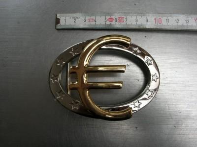 Koppelschnalle 4,0 cm silber-gold (E19K100)