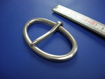 Halbschnallen 7,0 cm altsilber (E19K156)